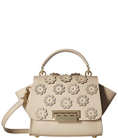 ZAC Zac Posen - Eartha Iconic Top-Handle Crossbody w/ Floral Applique