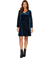Karen Kane - Velvet V-Neck Bell Sleeve Dress