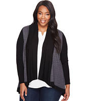 Karen Kane Plus - Plus Size Double Knit Cardigan