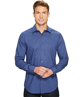 Calvin Klein - Slim Fit Infinite Cool End on End Shadow Check Button Down Shirt