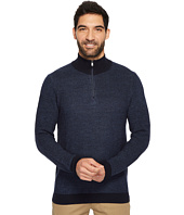 Calvin Klein - Merino Textured Tweed 1/4 Zip Sweater