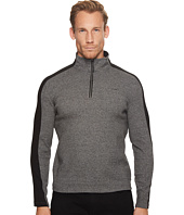 Calvin Klein - Color Blocked 1/4 Zip Knit