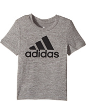 adidas Kids - Melange Performance Tee (Toddler)