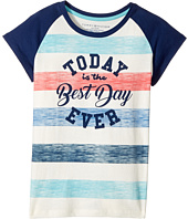 Tommy Hilfiger Kids - Best Day Ever Tee (Big Kids)