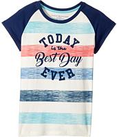 Tommy Hilfiger Kids - Best Day Ever Tee (Big Kids)