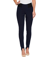 HUE - High Waist Denim Stirrup Leggings