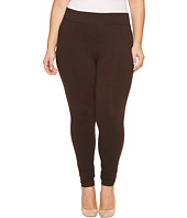 HUE - Plus Size Ultra Leggings with Wide Waistband