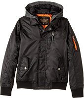 Urban Republic Kids - Hooded Flight Jacket (Little Kids/Big Kids)
