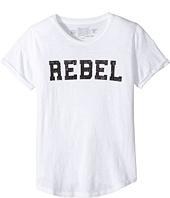 The Original Retro Brand Kids - Rebel Short Sleeve Slub Cotton Tee (Big Kids)