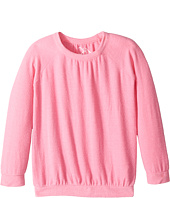 Chaser Kids - Love Knit Long Sleeve Shirred Raglan Pullover (Little Kids/Big Kids)