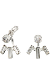 LAUREN Ralph Lauren - Baguette Front-Back Stone Earrings
