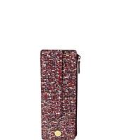 Lodis Accessories - Tweetable Tweed RFID Credit Card Case with Zipper Pocket