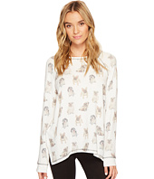 P.J. Salvage - Dogs On Display Long Sleeve Top