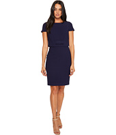 Badgley Mischka - Cap Sleeve Popover Dress