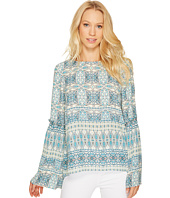 Tahari by ASL - Printed Long Sleeve Blouse