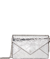 Tory Burch - Crackle Metallic Envelope Mini Bag