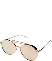 PERVERSE Sunglasses - Solid Rose Gold