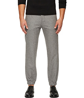 CLOSED - Glenn Cluffed Flannel Wool Jogger Pants