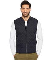 Perry Ellis - Quilted Nylon Full Zip Vest
