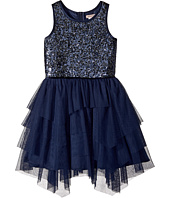 Nanette Lepore Kids - Novelty Sequins with Tulle Dress (Little Kids/Big Kids)
