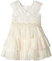 Nanette Lepore Kids - Lurex Embroidered Chiffon with Tulle (Infant)