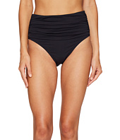 Bleu Rod Beattie - Kore Shirred High Waist Bikini Bottom