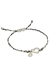 Alex and Ani - Precious Threads Heart Fog Braid Bracelet