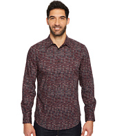 Perry Ellis - Long Sleeve Levels Button Down Shirt