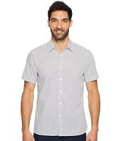 Perry Ellis - Short Sleeve Dot Printed Shirt