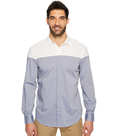 Perry Ellis - Long Sleeve Color Block Shirt