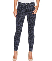 7 For All Mankind - The Ankle Skinny in Laser Black Cheetah