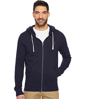 U.S. POLO ASSN. - Slim Fit Solid French Terry Hooded Jacket