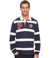 U.S. POLO ASSN. - Classic Fit Long Sleeve Color Block Pique Polo