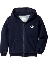 True Religion Kids - French Terry Hoodie (Toddler/Little Kids)