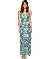 ROMEO & JULIET COUTURE - Printed Maxi Dress with Back Ring Detail
