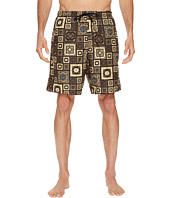 Versace - Printed Beach Long Shorts