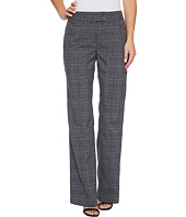 Tahari by ASL - Plaid Pants with Tab Waistband