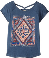 Lucky Brand Kids - Riley Diamond Graphic Tee (Big Kids)