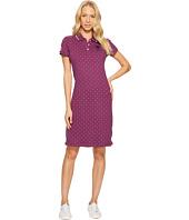 U.S. POLO ASSN. - Stretch Pique Printed Polo Dress