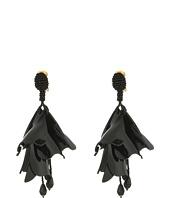 Oscar de la Renta - Large Impatiens C Earrings