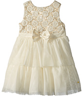 Nanette Lepore Kids - Embroidered Mesh Over Sequins Dress (Infant)