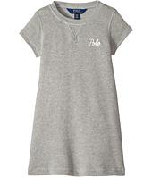 Polo Ralph Lauren Kids - French Terry T-Shirt Dress (Toddler)