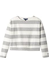 Polo Ralph Lauren Kids - Striped Ponte Top (Little Kids/Big Kids)