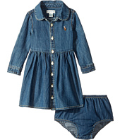 Ralph Lauren Baby - Cotton Denim Shirtdress (Infant)