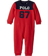 Ralph Lauren Baby - Cotton-Blend-Fleece Coverall (Infant)