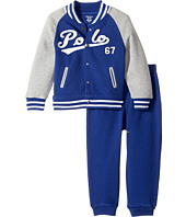 Ralph Lauren Baby - Cotton Terry Jacket & Pants Set (Infant)