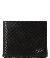 Nike - Carbon Fiber Textured Billfold Wallet