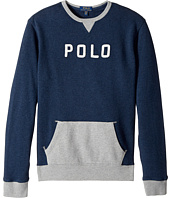 Polo Ralph Lauren Kids - Cotton French Terry Sweatshirt (Big Kids)