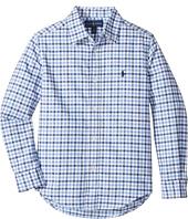 Polo Ralph Lauren Kids - Checked Cotton Oxford Shirt (Little Kids/Big Kids)
