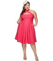 Unique Vintage - Plus Size Rita Flare Dress